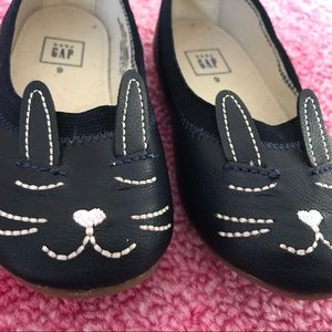Easter bunny navy ballet flat 9 toddler Baby Gap